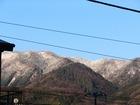 山は雪景色